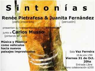 Sintonías - Renée Pietrafesa y Juanita Fernández